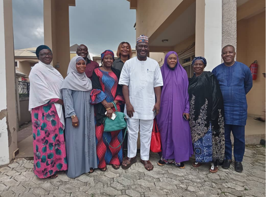 REPORT OF FEDERATION OF MUSLIM WOMEN'S ASSOCIATIONS OF NIGERIA (FOMWAN) COURTESY VISIT TO THE CHAIRMAN OF THE TRANSITION MONITORING GROUP (TMG)